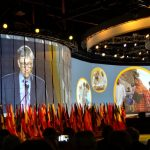 Bill Gates speaks at the Atlanta 2017 - Rotary International Convention